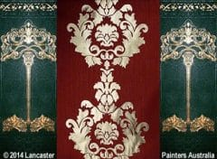 Anaglypta Wallpaper with Victorian Wallpaper