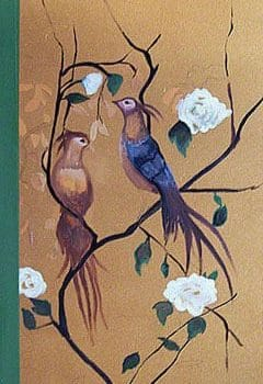 Chinoiserie Birds on Gold Art