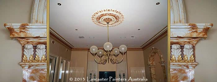 Decorative Ceiling Roses and Cornices Finishes