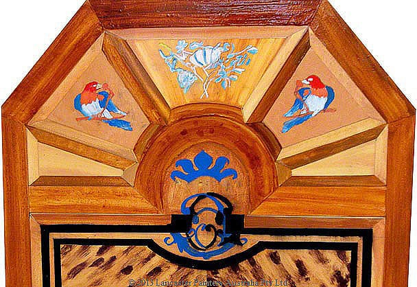 Furniture Finishes Hand Painted Marquetry