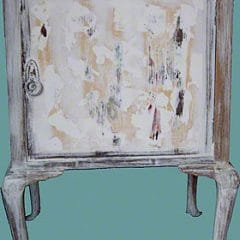 Furniture Finishes Shabby Chic Side Cabinet