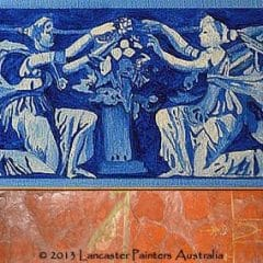 Hand Painted Heritage Frieze