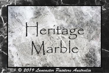 Heritage Faux Marble