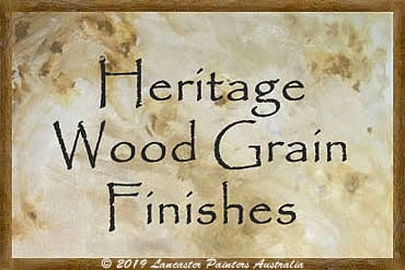 Heritage Wood Grain Finishes