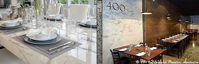 Contemporary Marble Finishes
