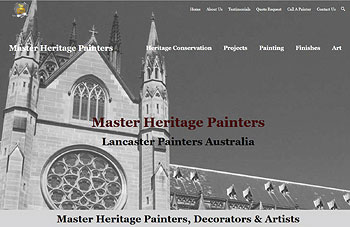 Master Heritage Painters Website