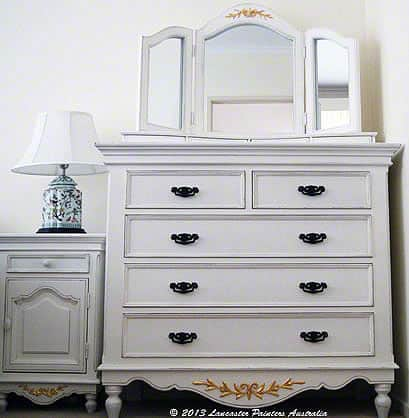 Gilded French Provincial Furniture