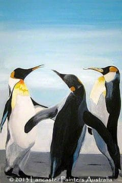 Penguin Small Talk Art