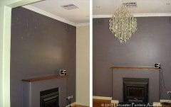 Porters Duchess Satin Lounge Room Walls