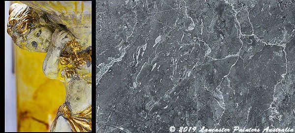 Sienna Marble and Grey Marble