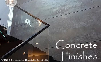 Contemporary Concrete Finishes