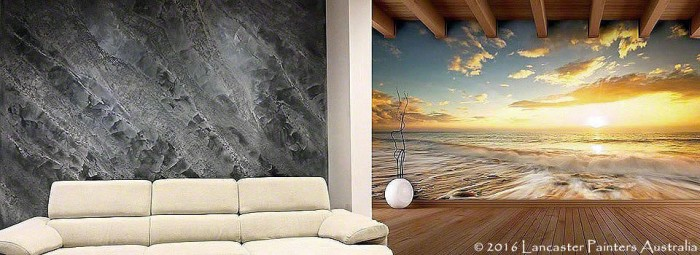 Italian Instinto Finish and 3D Mural