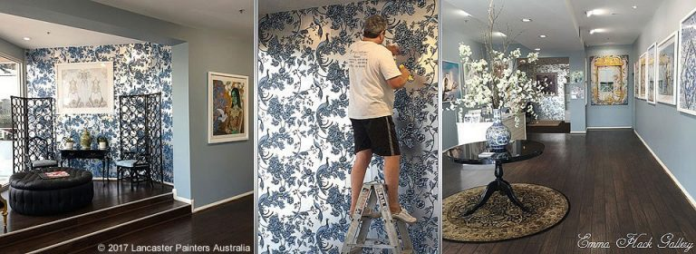 Specialist Finishes Professional Wallpaper Hanger Hanging Installation
