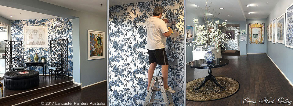 Specialist Finishes Professional Wallpaper Hanging Installation